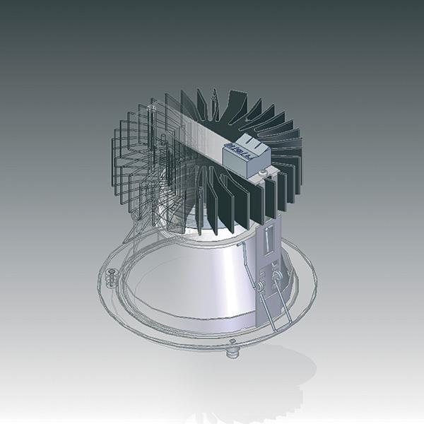 vue-3D-lampe