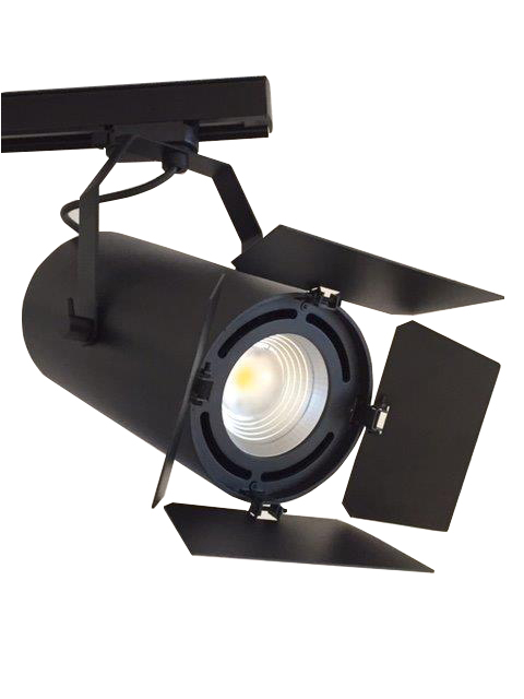 projecteur led avec volets coupe flux cubi spot. Black Bedroom Furniture Sets. Home Design Ideas