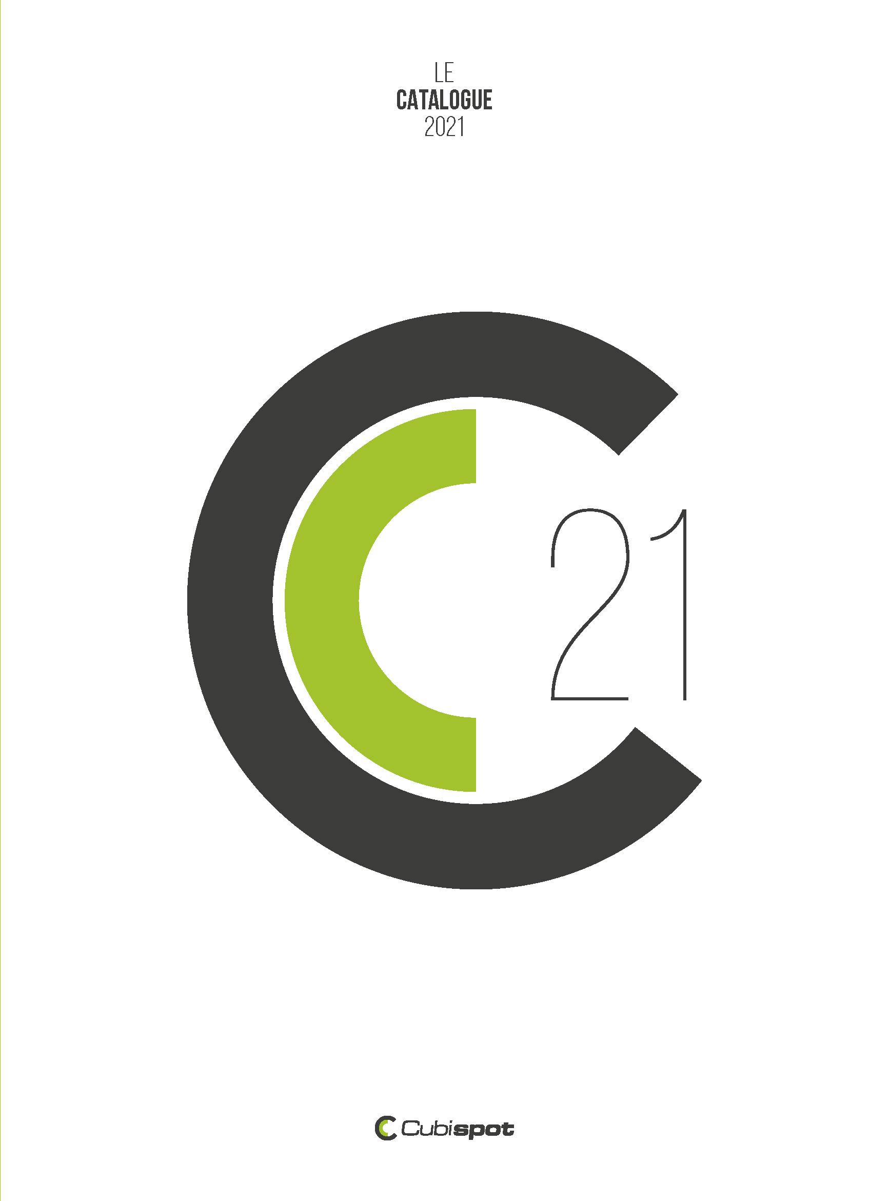 Couverture catalogue cubispot 2021