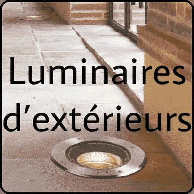 Luminaires d'extérieurs